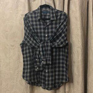 Ralph Lauren men's light weight flannel